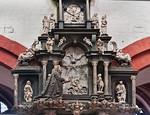 Brandenburg, Dom. Epitaph des Dechanten v. Königsmarck, Detail (gest. 1621)