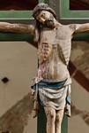 Brandenburg, Dom. Triumpfkreuzgruppe: Christus, Detail