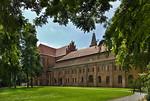 Brandenburg, Dom. Blick auf Klausur und Chor von Nordosten