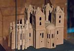 Brandenburg, Dom. Dommuseum: Modell (1722) der romanischen Marienkirche