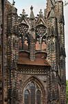 Brandenburg, St. Katharinen. Nordkapelle von Osten: Maßwerkgiebel