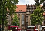 Brandenburg, St. Katharinen. Ansicht von Süden