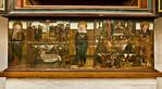 Brandenburg, St. Katharinen. Hedwigsaltar, Predella: Maria, Passionsszenen