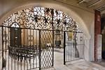Brandenburg, St. Katharinen. Blick durch Gitter in Nordkapelle (Marienkapelle)