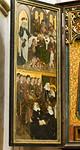 Brandenburg, St. Katharinen. Hedwigsaltar, li. Seitenflügel: Pilgerspeisung, Tod
