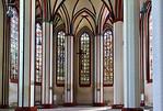 Frankfurt/Oder, St. Marien. Chor, mittlere 3 Fenster um 1360