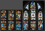 Christusfenster I, Zeile 9 (lu) bis 13 (ro)