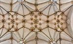 Frankfurt/Oder, Franziskanerkirche. Gewölbe des Mittelschiffs