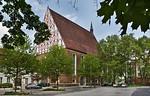 Frankfurt/Oder, Franziskanerkirche (Konzerthalle CPE Bach) von Südwesten
