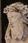 Dijon, Christus vom Mosesbrunen, Kopf [Arch. Museum]