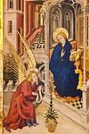 Melchior Broederlam: Verkündigung  [Dijon, Musée des Beaux-Arts]