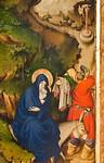 Melchior Broederlam: Flucht nach Ägypten [Dijon, Musée des Beaux-Arts]