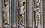 Bamberg. Dom: Fürstenportal, rechtes Gewände, mittlere Propheten (Kopie)