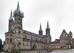 Bamberg. Dom und Alte Hofhaltung von Nordosten