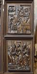 Bamberg. Dom: Marienaltar, rechter Flügel (Veit Stoß, 1523)