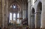 Bamberg. Dom: Blick auf Westchor