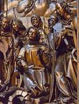 Bamberg. Dom: Marienaltar, Detail Mitteltafel (Veit Stoß, 1523)