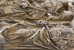 Bamberg. Dom: Tumba Heinrich + Kunigunde, Deckplatte, Detail
