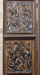 Bamberg. Dom: Marienaltar, linker Flügel (Veit Stoß, 1523)