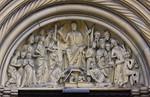 Bamberg. Dom: Fürstenportal, Tympanon