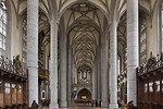 Nördlingen. St. Georg: Blick vom Chor nach Westen