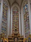 Rothenburg. St. Jakob: Chorfenster