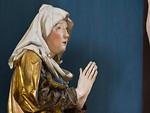 Nördlingen. St. Georg: Hochaltar, Maria, Detail