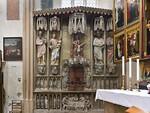 Rothenburg. St. Jakob: Sakramentsnische (1390-1400)