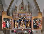 Bopfingen. St. Blasius. Hochaltar (Malerei Friedrich Herlin, um 1472)
