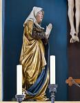 Nördlingen. St. Georg: Hochaltar, Maria
