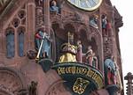 Nürnberg. Frauenkirche: das Männleinlaufen