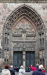 Nürnberg. St. Lorenz: Westportal (1355/60)