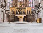 Nürnberg. Frauenkirche: Chor mit Haupttaltar