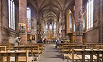 Nürnberg. Frauenkirche: Blick nach Osten