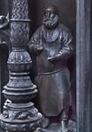 Nürnberg. St. Sebald: Sebaldusgrab, Tumba-Ostseite, Figur Peter Vischer d.Ä.