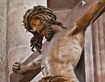 Nürnberg. St. Sebald: Christus der Kreuzigungsgruppe, Detail