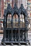Nürnberg. St. Sebald: Sebaldusgrab, Südseite