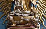 Nürnberg. St. Sebald: Strahlenkranzmadonna, Detail