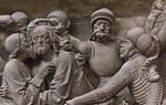 Nürnberg. St. Sebald: Volckamer-Epitaph, Detail Gefangennahme