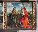 Nürnberg. St. Sebald: Tucher-Epitaph rechts: Johannes d.T., Hieronymus