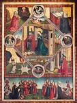 Nürnberg. St. Sebald: Epitaph der Elsbeth Starck: Allegorie der Jungfräulichkeit nach Franz von Reetz (>1449)