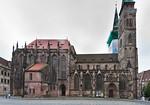 Nürnberg. St. Sebald: Ansicht von Norden