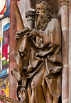 Nürnberg. St. Sebald: hl. Andreas von rechts (Veit Stoß, 1500/10)
