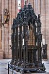 Nürnberg. St. Sebald: Sebaldusgrab (Peter Fischer d.Ä. + d.J., 1519)