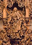 Creglingen. Marienaltar: Maria und Apostel