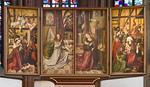 Würzburg. Marienkapelle: Hauptaltar (1514, neu zusammengesetzt)