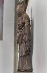 Würzburg. Marienkapelle: Maria vom Westportal von rechts