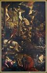 Würzburg. St. Johannes im Stift Haug, Kreuzigung (Tintoretto, 1587)