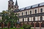 Würzburg. Dom St. Kilian, aus Südost vom Kreuzgang