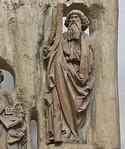 Würzburg. Dom: Andreas vom Apostelalter